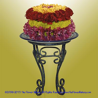 Evening Serenade� Flower Cake