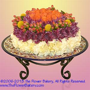 For Him Send unique flower arrangementsbirthday flower cake gifts