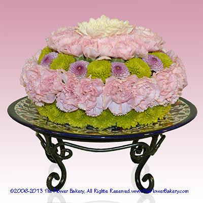 Jeannie's Bottle™ Flower Cake