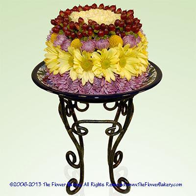 "Selinaâ""¢ Flower Cake"