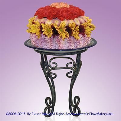 "Spiceâ""¢ Flower Cake"