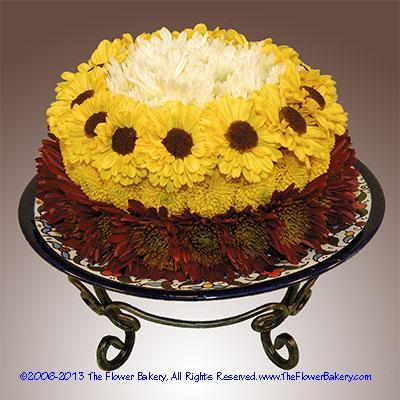 "Summer Funâ""¢ Flower Cake"